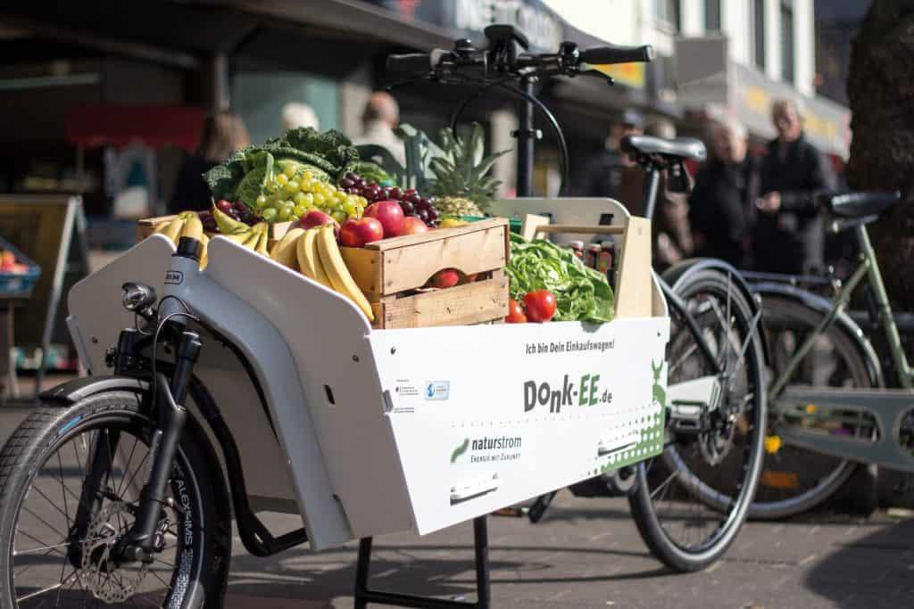 Elektrische Lastenräder im Sharing in Köln