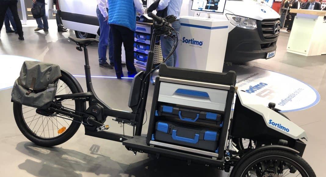 Bildrechte: Michael Brecht - Sortimo Aufsatzlösungen für E-Cargobikes