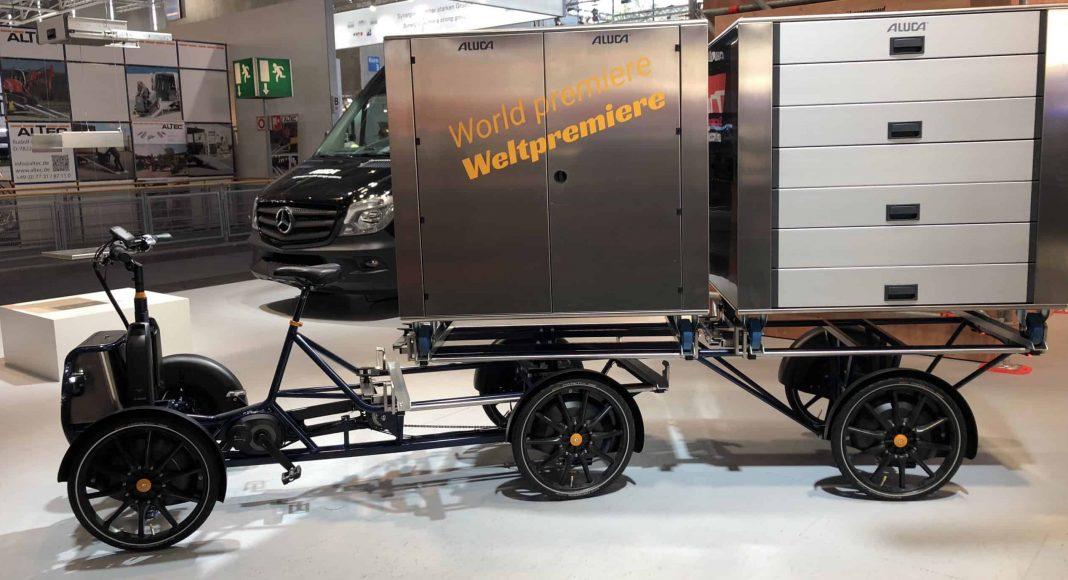 Bildrechte: Michael Brecht - Gazelle E-Lastenrad auf der IAA Nutzfahrzeuge in Hannover