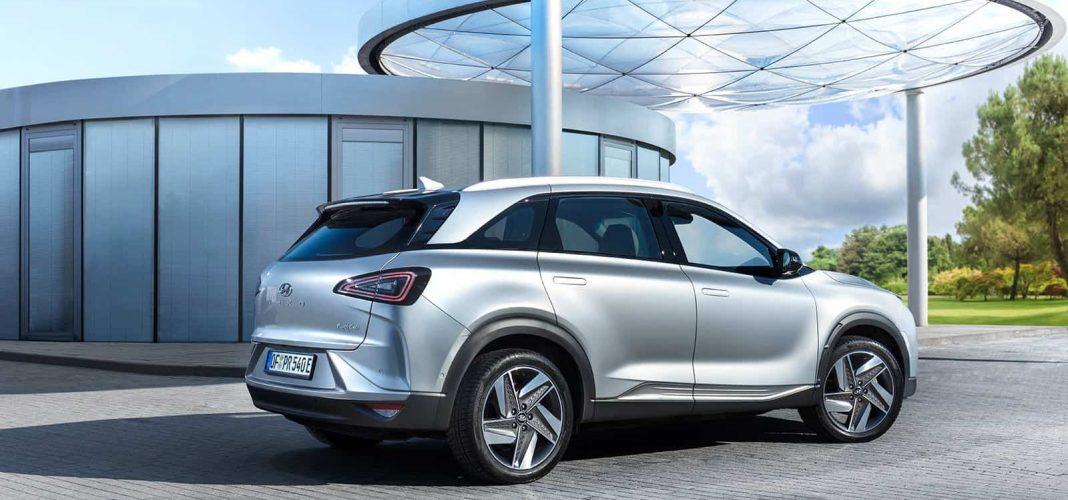 Bildrechte: Hyundai - das NEXO Wasserstoff-Auto