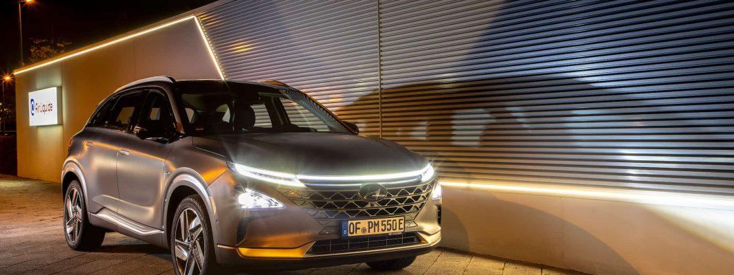 Bildrechte: Hyundai - NEXO Wasserstoff-Auto