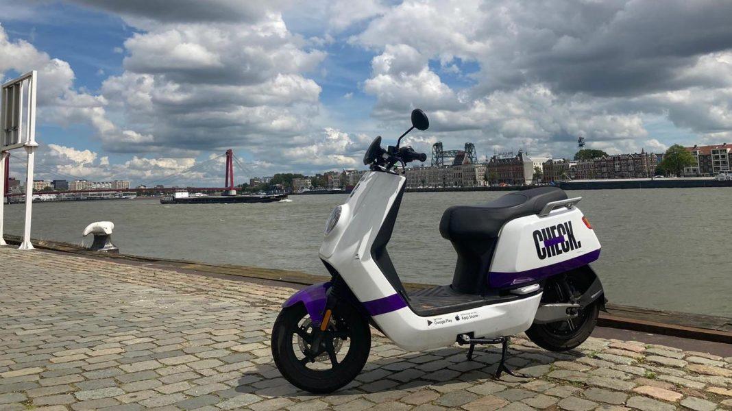 Bildrechte: Michael Brecht - CHECK E-Moped Sharing Rotterdam