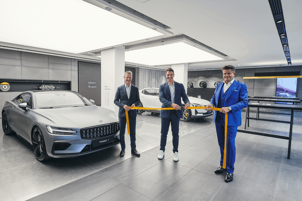 Polestar Spaces starten in Deutschland in Düsseldorf