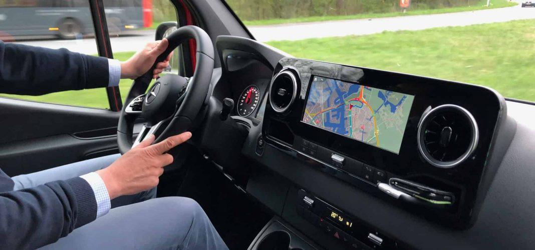 Bildrechte: Michael Brecht - Test des elektrischen Sprinter von Mercedes-Benz